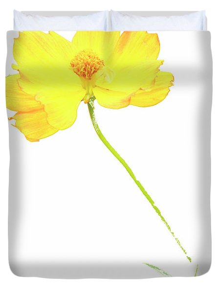Cosmos Flower Duvet Cover