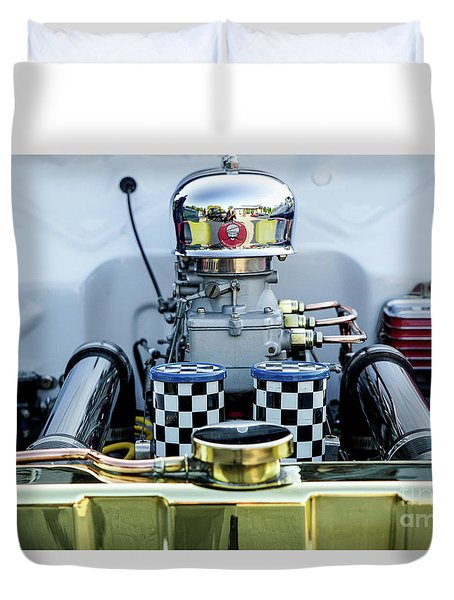 Engine Duvet Cover