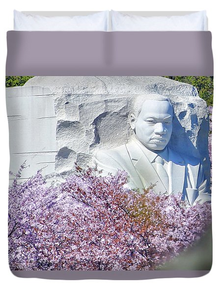 Duvet Cover featuring the photograph Faith by Mitch Cat
