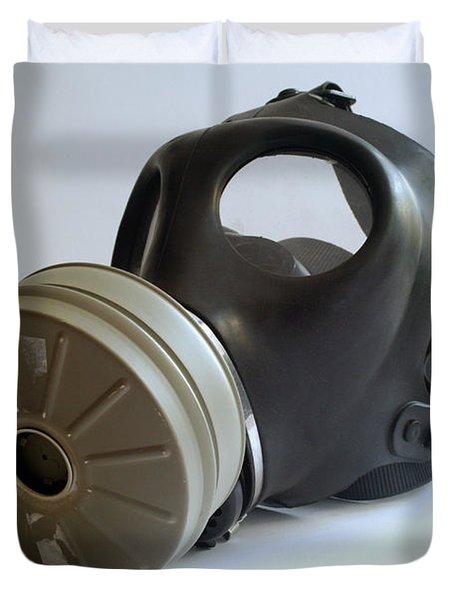 Gas Mask Duvet Cover