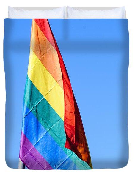 Gay Rainbow Flag  Duvet Cover
