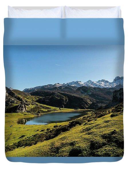 Glacier Formed Duvet Cover