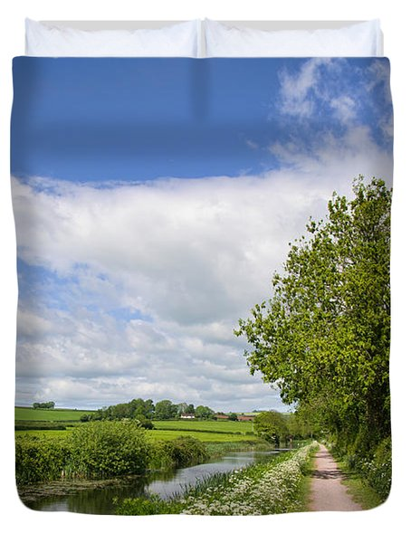 Grand Western Canal Duvet Cover