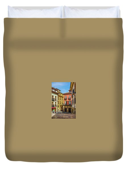 Historic Downtown Duvet Cover