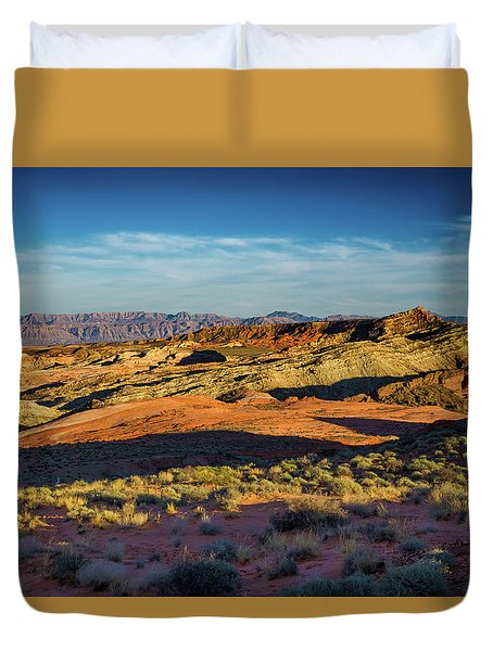 I Could Hear For Miles. Duvet Cover