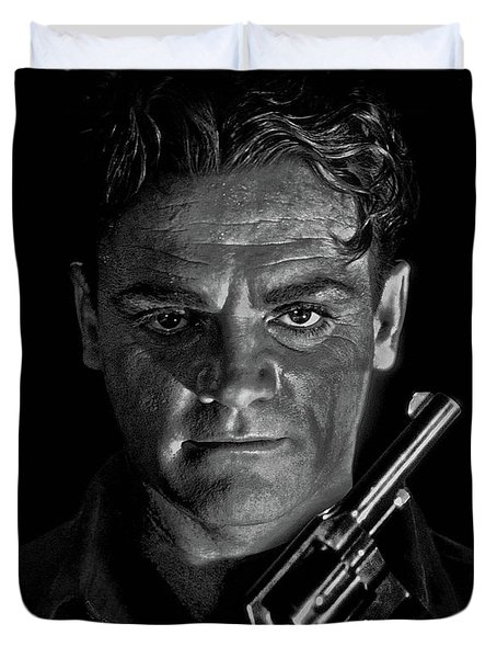 James Cagney - A Study Duvet Cover