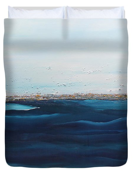Jewels Of The Sea Duvet Cover