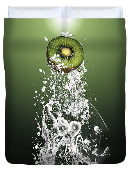 Kiwi Splash Duvet Cover