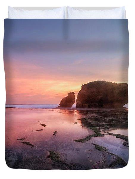 Kukup Beach - Java Duvet Cover