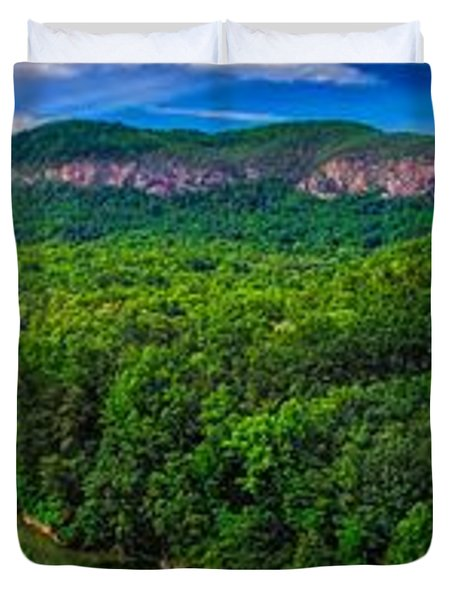 Lake Lure Duvet Cover