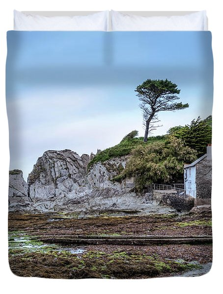 Lee Bay - England Duvet Cover