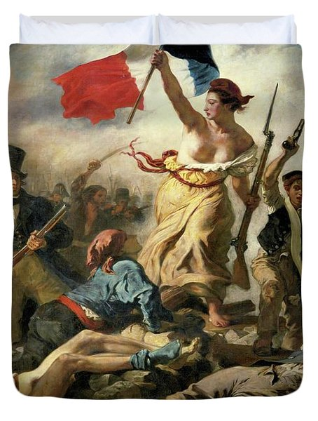Liberty Leading The People Duvet Cover