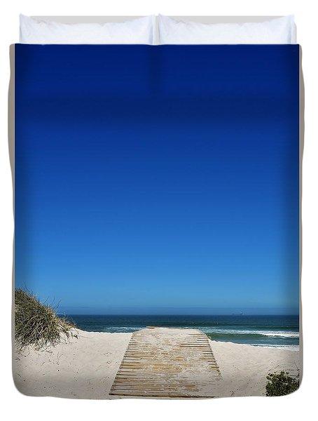 long awaited View Duvet Cover by Werner Lehmann