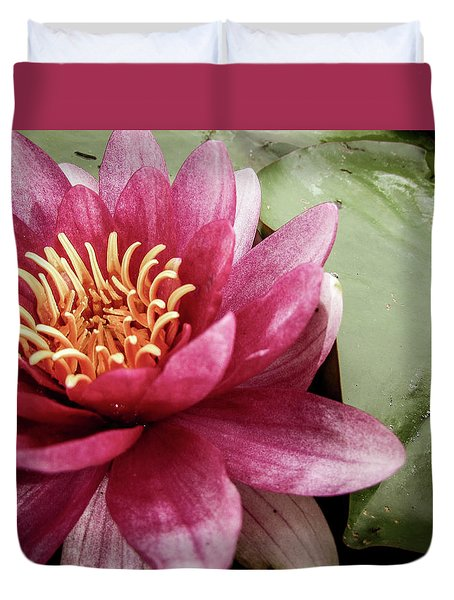 Lotus Duvet Cover