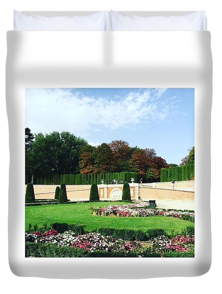 The Gardens Of The Prince  Duvet Cover