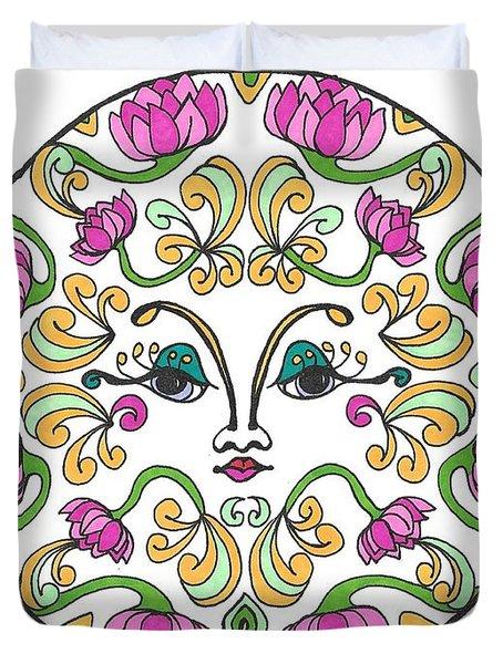 Lotus Princess Duvet Cover