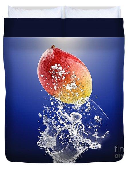 Mango Splash Duvet Cover