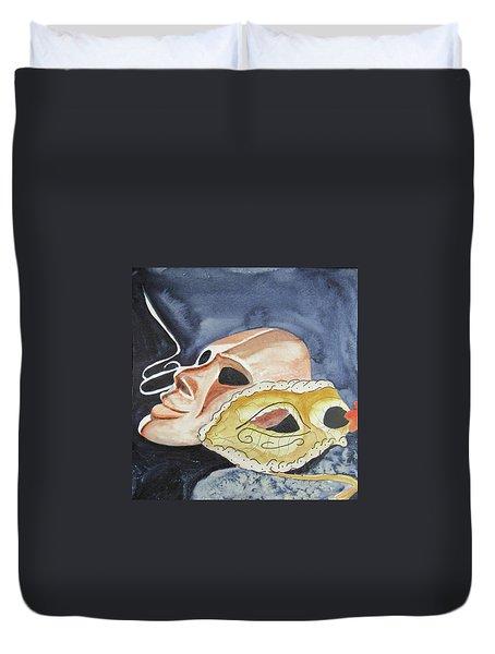 #4 Mask Removed Duvet Cover