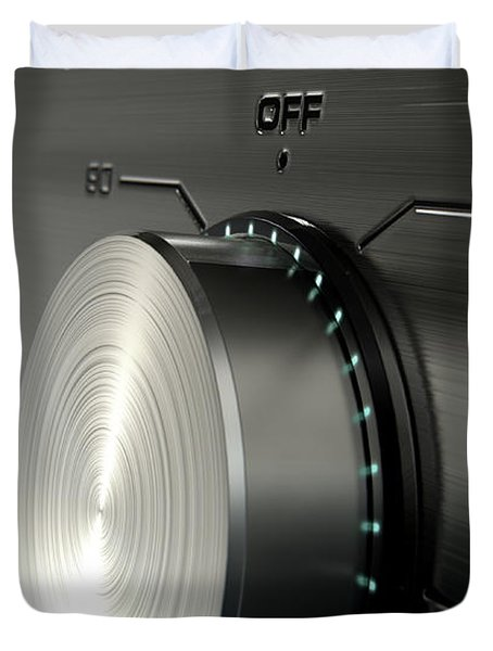 Modern Washing Machine Closeups Duvet Cover