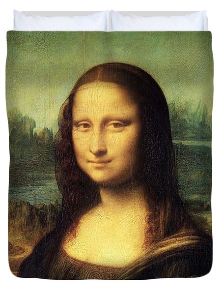 Mona Lisa Duvet Cover