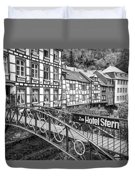 Monschau In Germany Duvet Cover