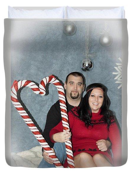 Morvillo Family Holiday Duvet Cover