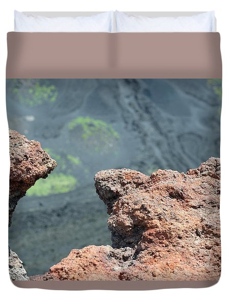 Mount Etna Duvet Cover