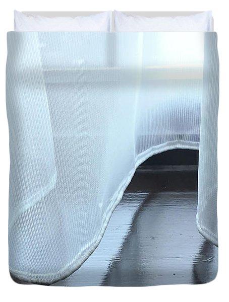 Net Curtain Duvet Cover