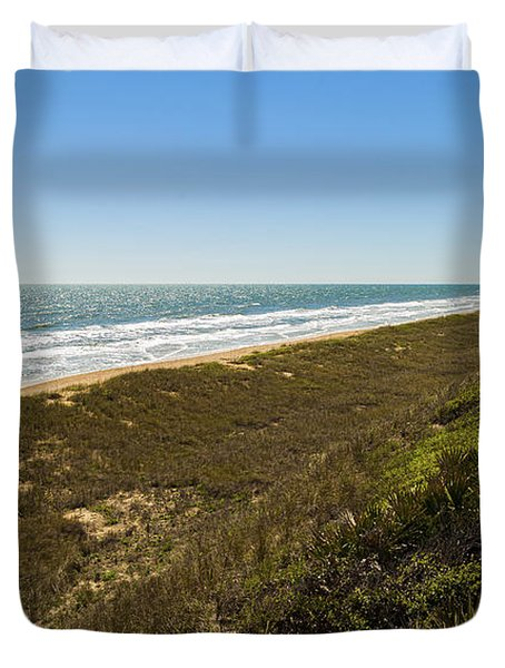 Ponte Vedra Beach Duvet Cover by Raul Rodriguez
