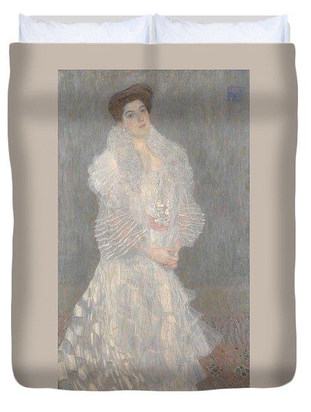 Portrait Of Hermine Gallia Duvet Cover