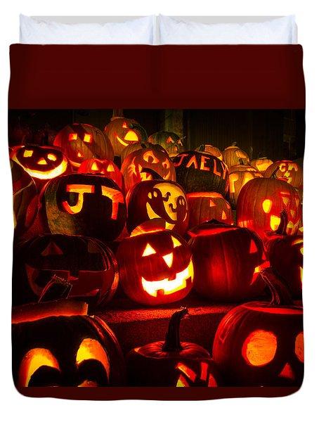 Pumpkinfest 2015 Duvet Cover