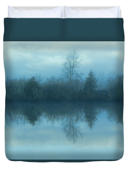 Reflections Duvet Cover by Cathy Anderson