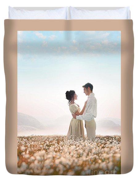 Regency Couple Duvet Cover by Lee Avison