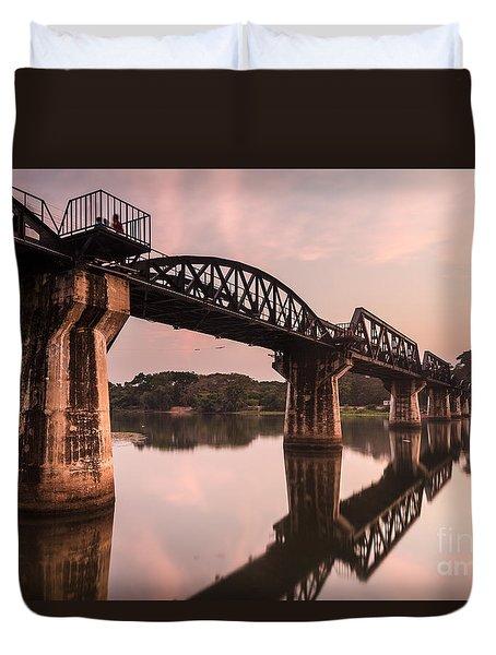 River Kwai Bridge Duvet Cover