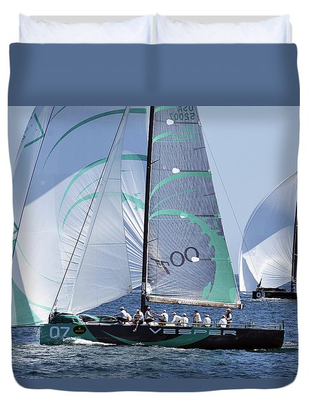 Rolex Capri Sailing Week 2014 Duvet Cover