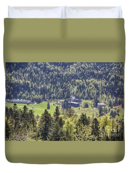 Schloss Elmau Duvet Cover