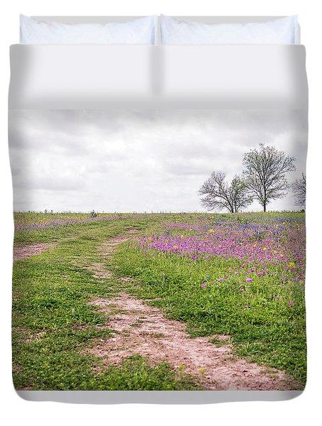 Texas Wildflowers 3 Duvet Cover