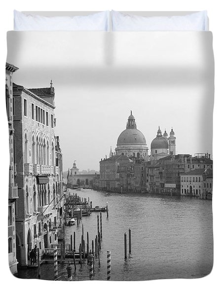 The Grand Canal In Venice Duvet Cover