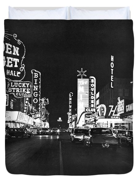 The Las Vegas Strip Duvet Cover