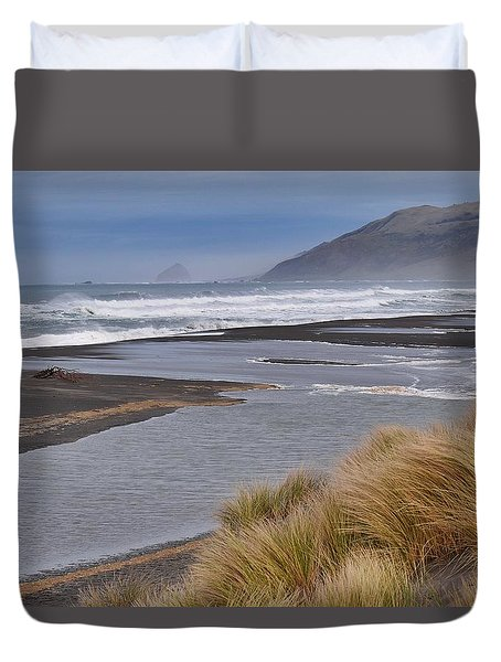 The Lost Coast Duvet Cover