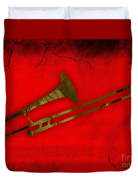 Trombone Collection Duvet Cover