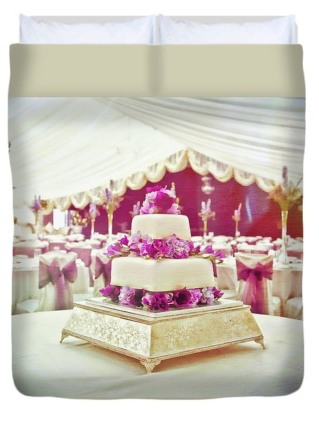 Wedding Cake Duvet Cover