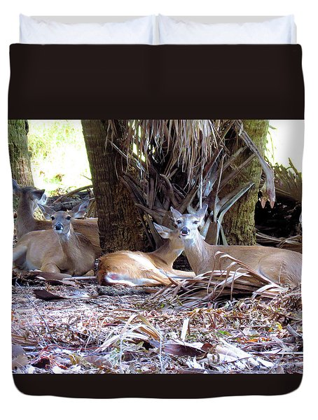 4 Wild Deer Duvet Cover