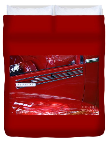 1940 Buick Special Duvet Cover