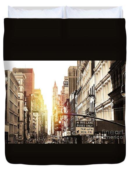 401 Broadway Duvet Cover