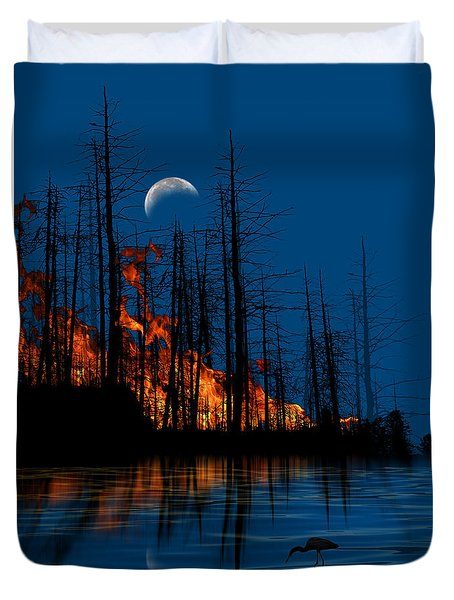 4040 Duvet Cover by Peter Holme III