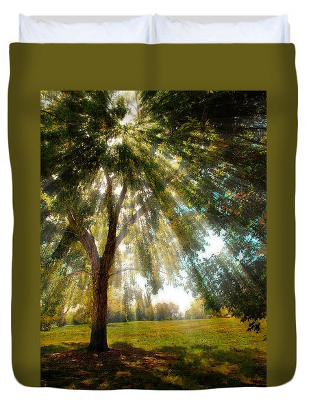 4095 Duvet Cover by Peter Holme III
