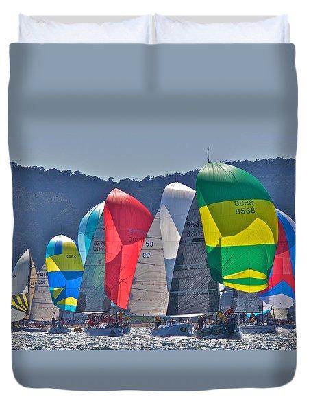 Bay Colors Duvet Cover