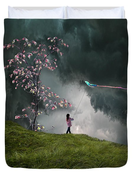 4166 Duvet Cover by Peter Holme III