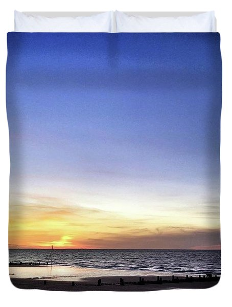 Instagram Photo Duvet Cover by John Edwards